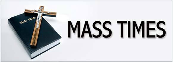 Image result for mass times