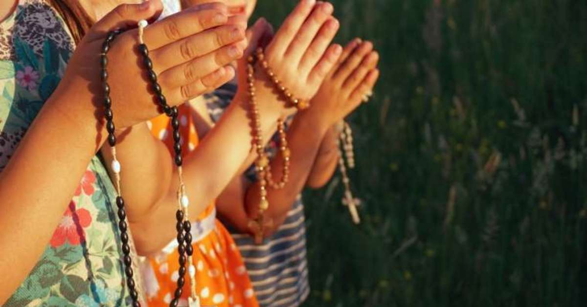 Campaign seeks to unite a million children in praying the rosary - Catholic  San Francisco - San Francisco, CA