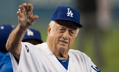 The faith of Tommy Lasorda, the baseball manager who 'gave God a jersey'