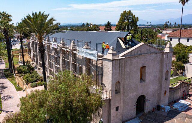 Mission San Gabriel repairs progress ahead of jubilee kick-off