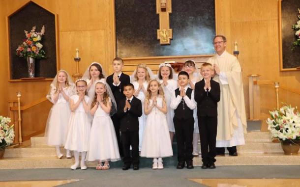 1st Communion Students 2021