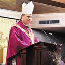 Bishop visits St. Thomas More Parish