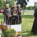 Graveside memorial service held for Father Mychal Judge