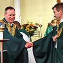 Bishop installs Father Stephen Prisk as pastor of Holy Spirit Parish in Pequannock