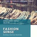 Women's Monthly Retreat (online): FASHION SENSE
