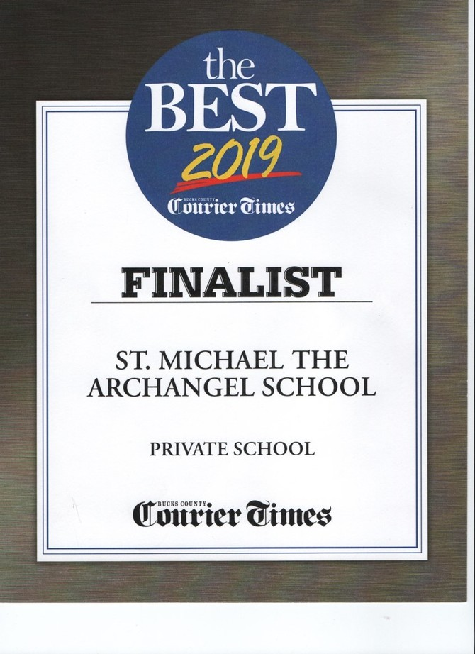 st michael, st michael the archangel, catholic school, catholic education, bucks county, bucks count courier times