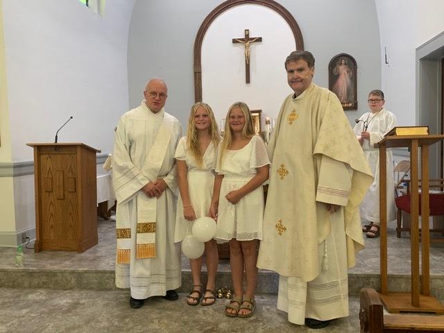 1st Communion August 2021