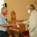 Joyful parishioners back in church